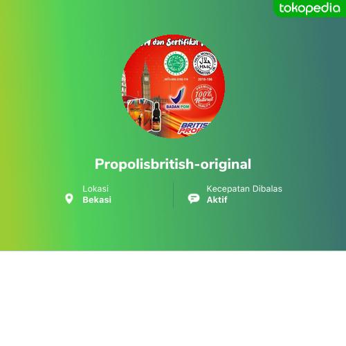 Propolisbritish-original - Jatiasih, Kota Bekasi | Tokopedia