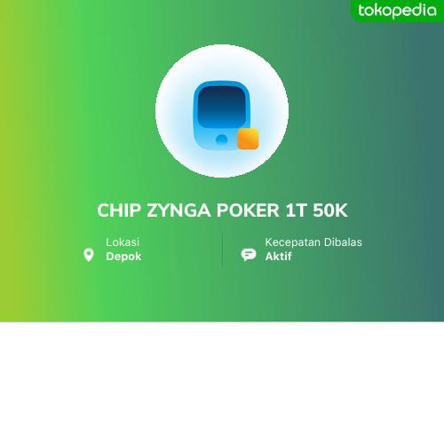 Chip Zynga Poker 1t 50k Bojongsari Kota Depok Tokopedia