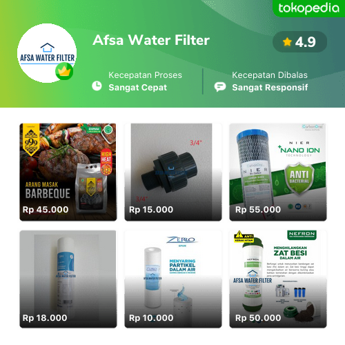Afsa Water Filter - Koja, Kota Administrasi Jakarta Utara ...
