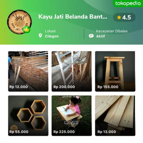 Kayu Jati Belanda Banten Cilegon Kota Cilegon Tokopedia