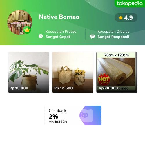 Native Borneo - Menteng, Kota Administrasi Jakarta Pusat ...