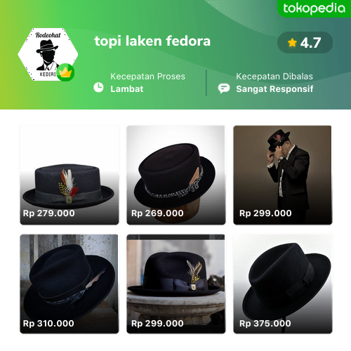 Topi Laken Fedora godean.web.id