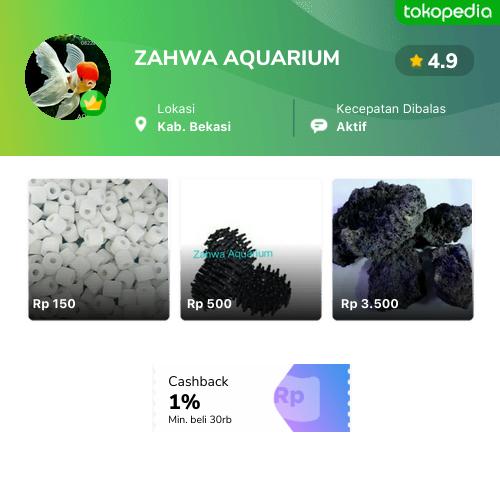 ZAHWA AQUARIUM - Tarumajaya, Kab. Bekasi | Tokopedia