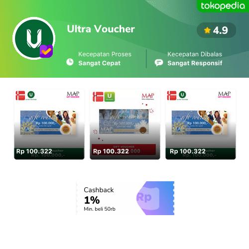 Official Store Ultra Voucher - Jual Produk Ultra Voucher