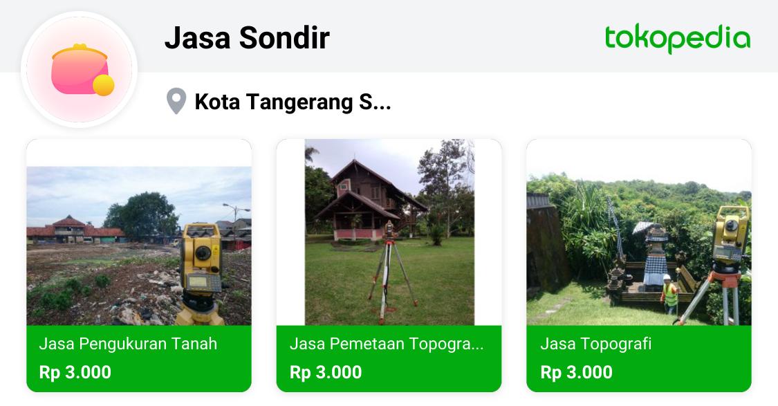 Jasa Sondir Pamulang Kota Tangerang Selatan Tokopedia