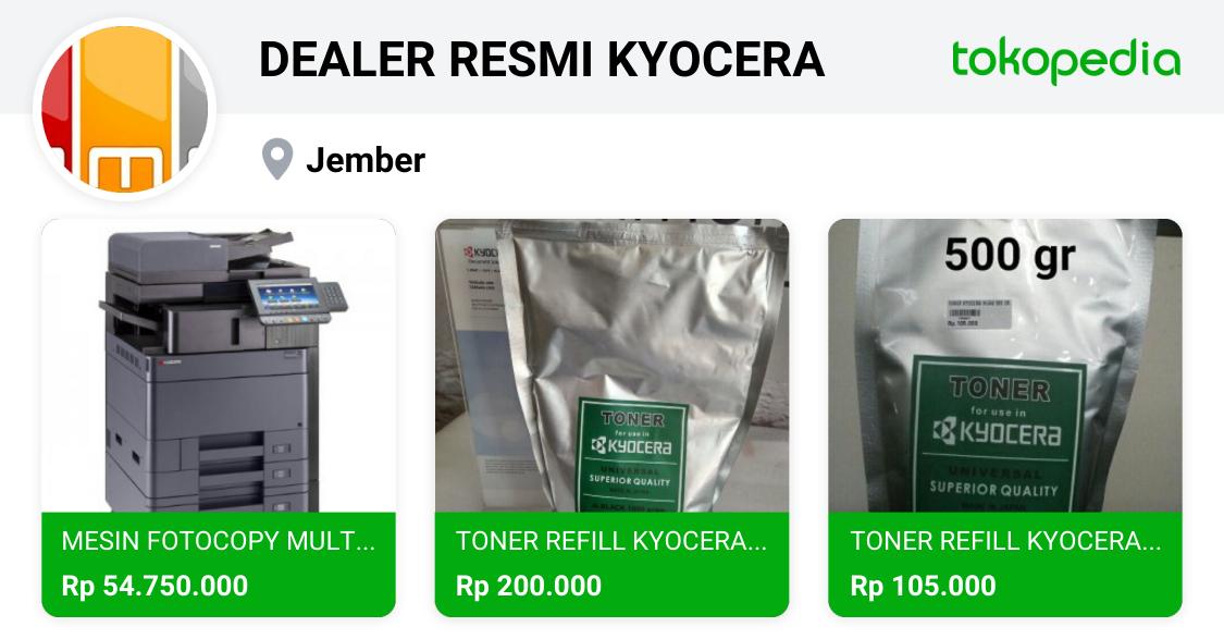 f20d3f530a4 DEALER RESMI KYOCERA - Jember, Kab. Jember | Tokopedia