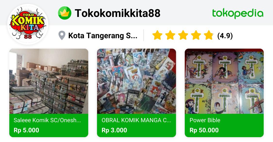 Toko Komik Moshi2 - Serpong, Kota Tangerang Selatan