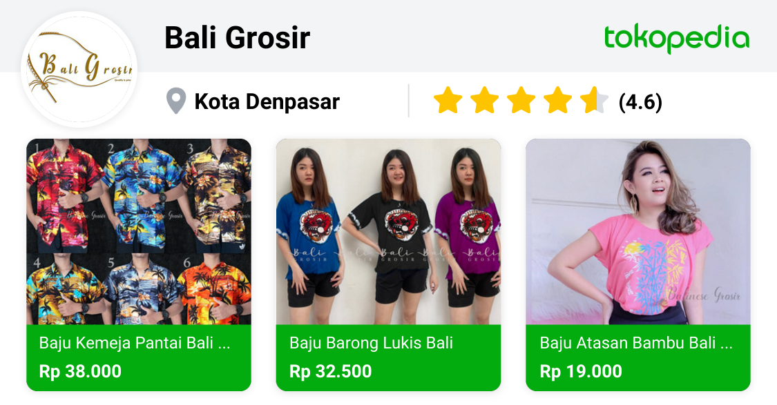 Bali Grosir Sukawati Kab Gianyar Tokopedia