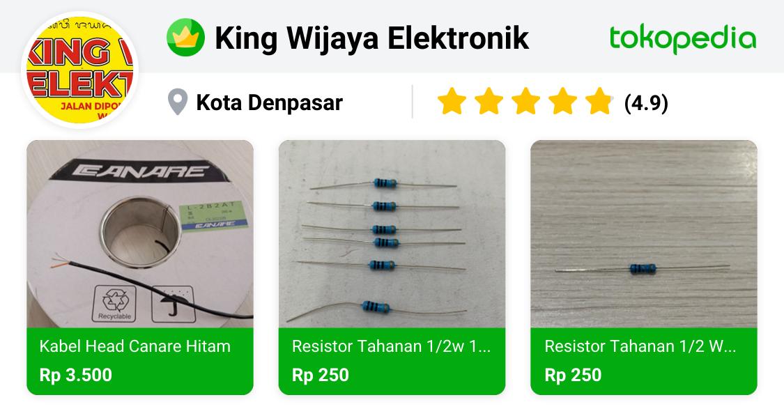 King Wijaya Elektronik - Denpasar Barat, Kota Denpasar