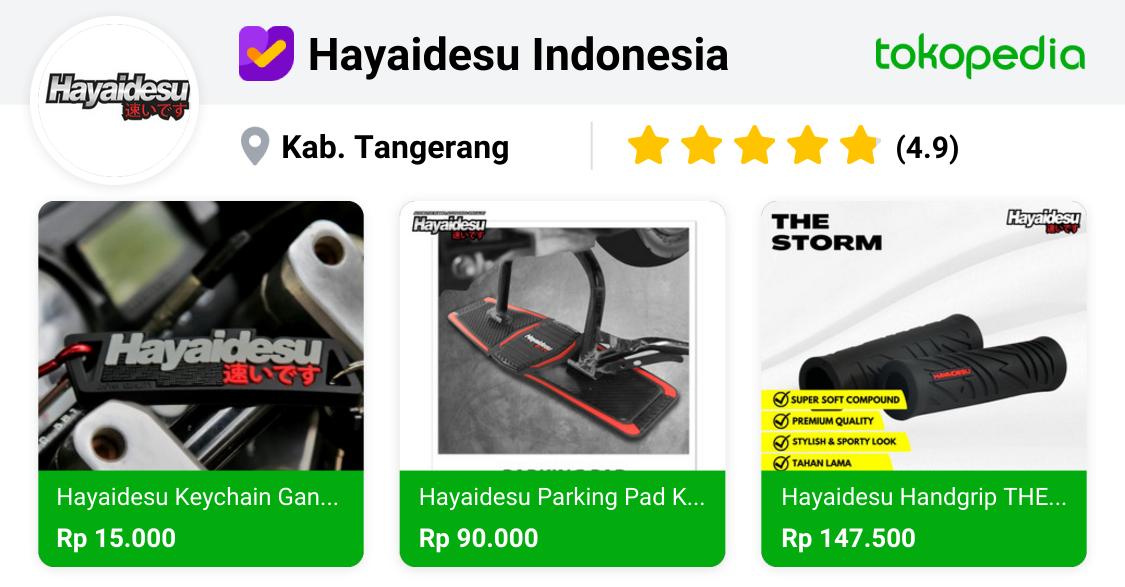 Official Store Hayaidesu Indonesia - Jual Produk Hayaidesu