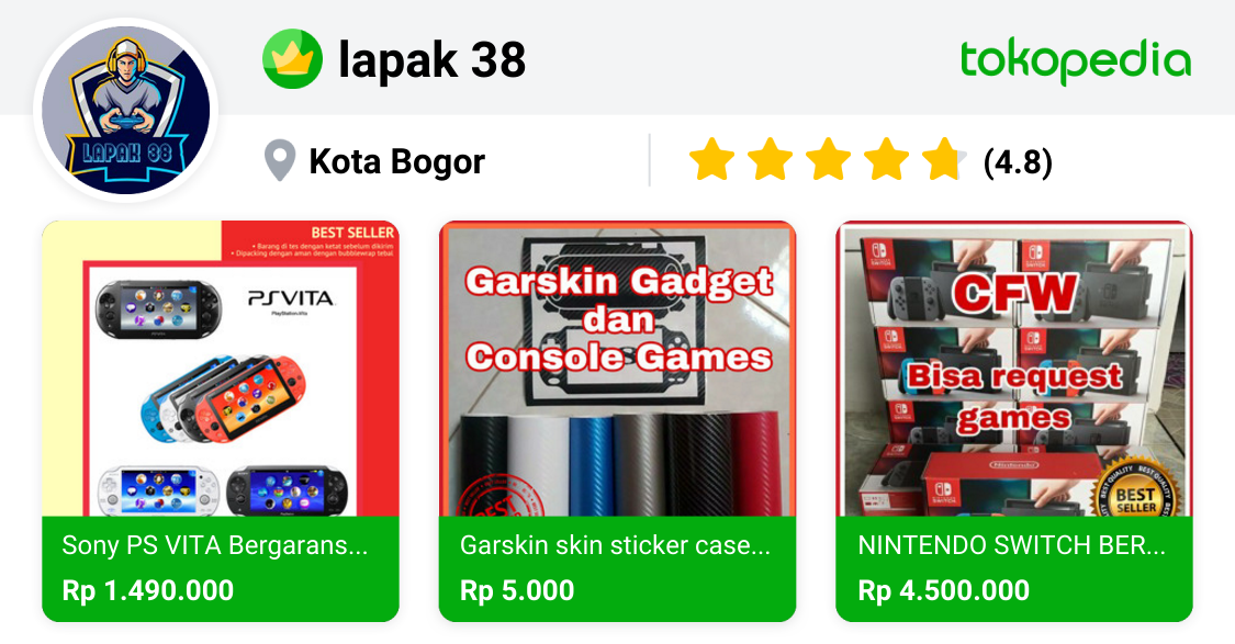najibmubarizi - Tanah Sereal, Kota Bogor | Tokopedia