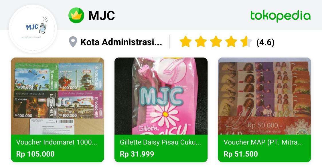 MJC - Kelapa Gading, DKI Jakarta | Tokopedia