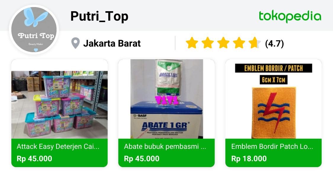 Putri_Top - Cengkareng, Kota Administrasi Jakarta Barat