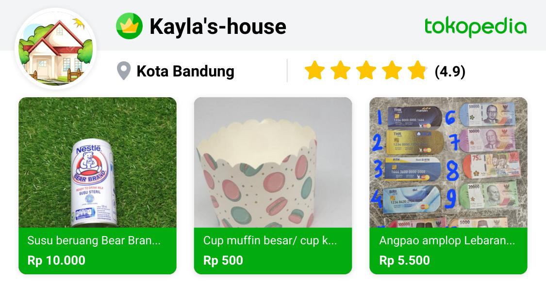 Kayla's-house - Sukajadi, Kota Bandung | Tokopedia