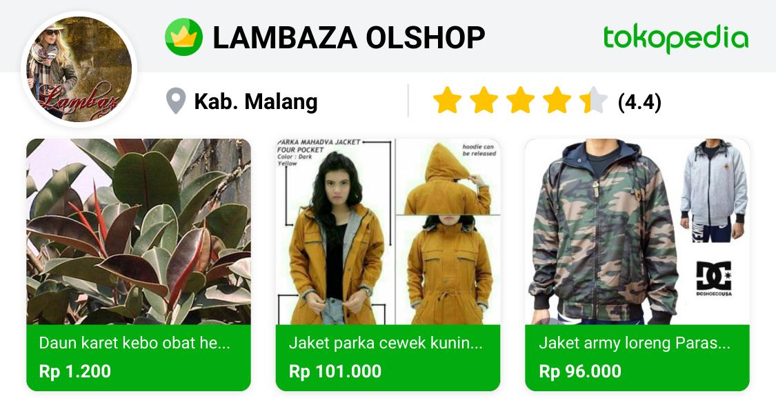 LAMBAZA OLSHOP - Blimbing, Kota Malang | Tokopedia