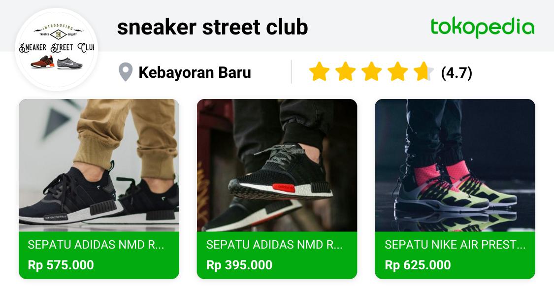 sneaker street club Kebayoran Baru, Kota Administrasi