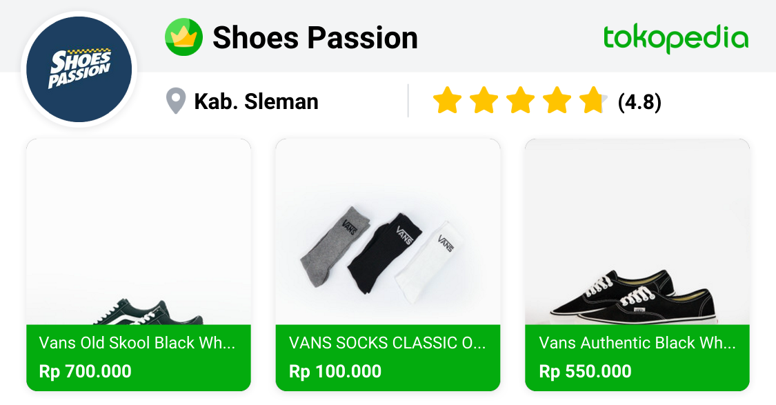 reputable site de790 755a3 Shoes Passion - Mlati, Kab. Sleman | Tokopedia