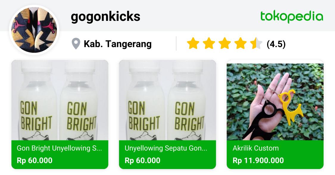 gogonkicks Depok, Kab. Sleman Tokopedia