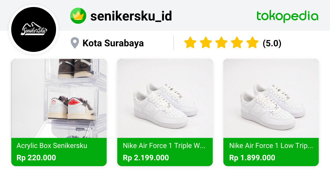 senikerskuy - Mulyorejo, Kota Surabaya | Tokopedia