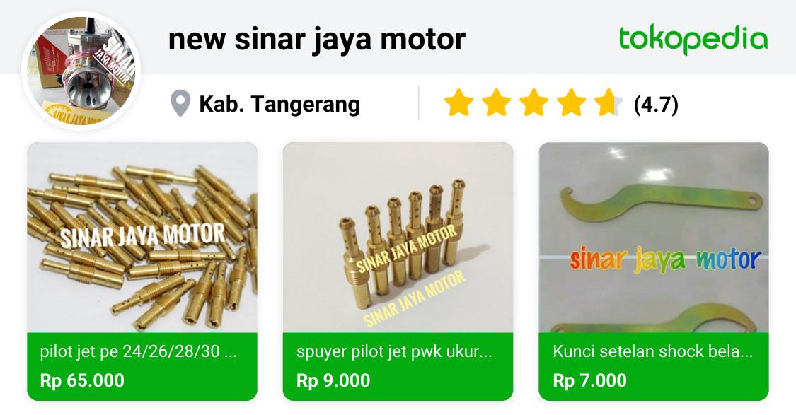 new sinar jaya motor - Cikupa, Kab. Tangerang   Tokopedia