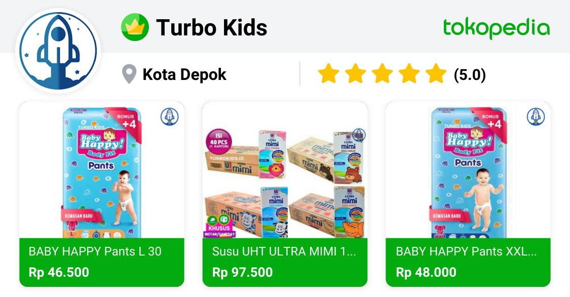Turbo Kids - Pancoran Mas, Kota Depok | Tokopedia