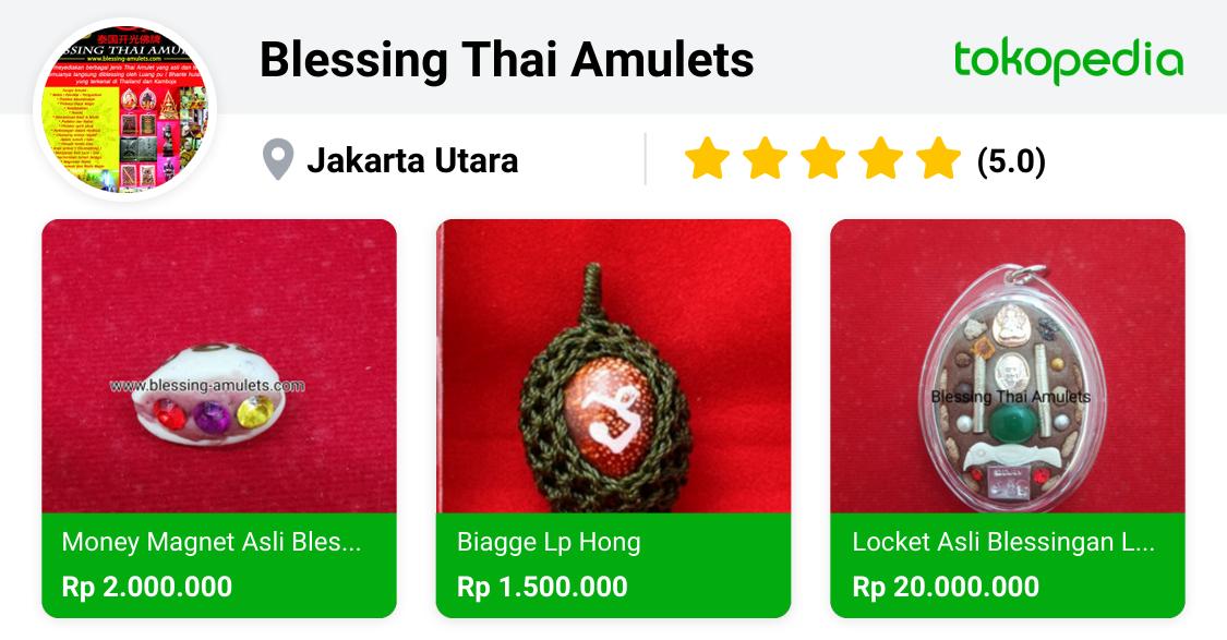 Blessing Thai Amulets - Pademangan, Kota Administrasi Jakarta Utara