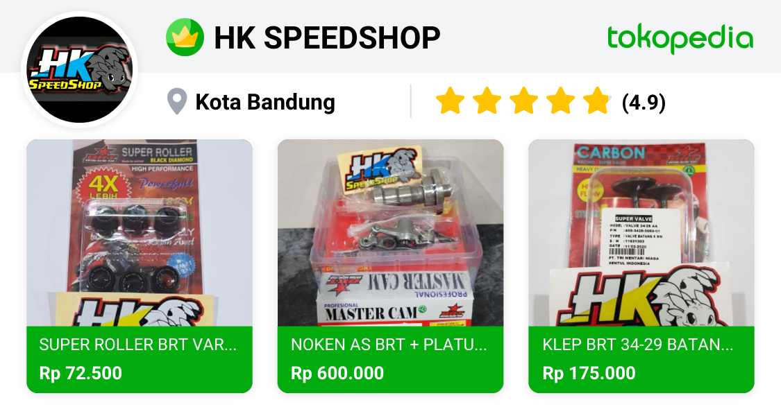 HK SPEEDSHOP (BANDUNG) - Bandung Kulon, Kota Bandung