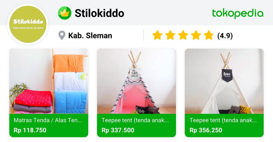 Stilokiddo Depok, Kab. Sleman Tokopedia