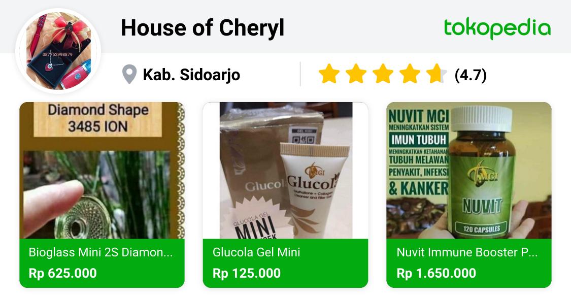 House of Cheryl - Gayungan, Kota Surabaya | Tokopedia