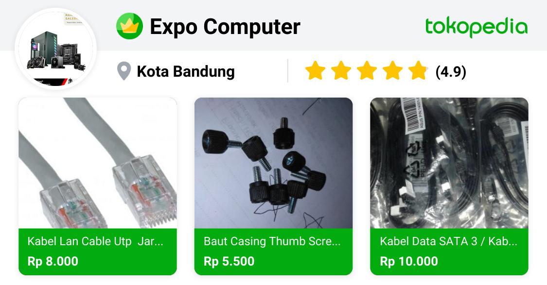 Expo Computer - Antapani, Kota Bandung | Tokopedia