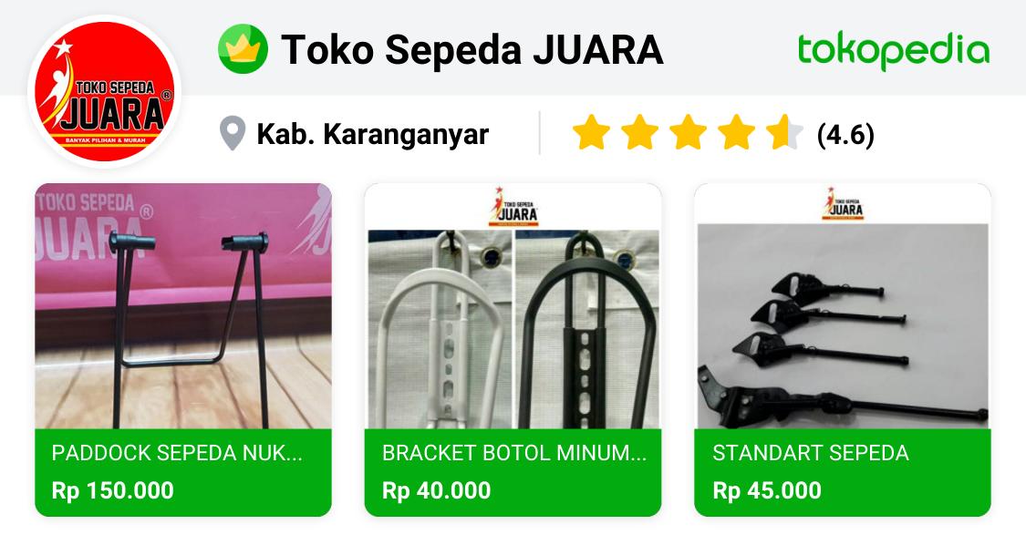 Toko Sepeda JUARA - Karanganyar, Kab. Karanganyar | Tokopedia